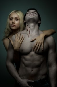 Vampire female and male