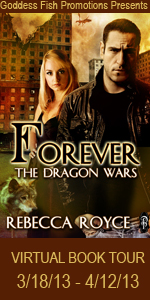 VBT Forever The Dragon Wars tall Banner