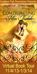 VBT Compromising Miss Tisdale Book cover Banner copy